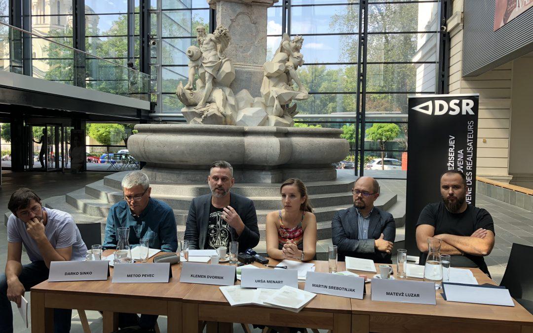 Društvo slovenskih režiserjev predstavlja nacionalni program za film